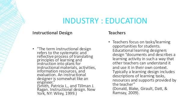 3. ARENu0027T ALL TEACHERS INSTRUCTIONAL DESIGNERS?