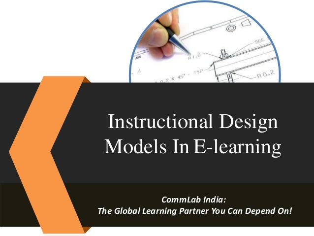Instructional design model in e learning instructional design models in e learning commlab india the global learning partner you can malvernweather Images