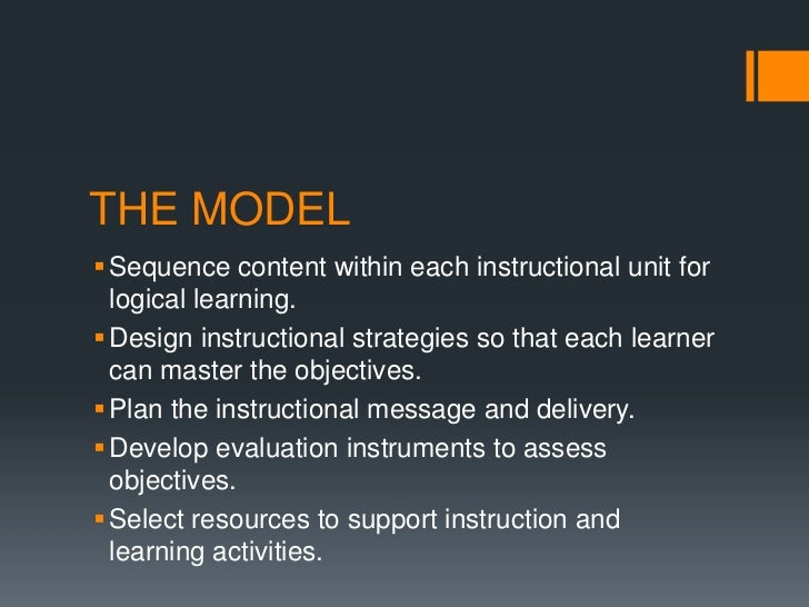 Instructional design plan - Instructional design plan examples ...