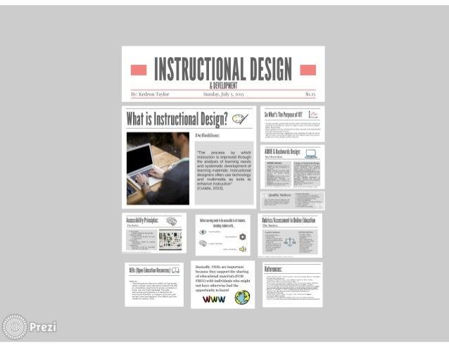 Captivating Instructional Design Prezi. I | NSIII| Ilu0027. I|IINIIIIIES| flN I | U0027.