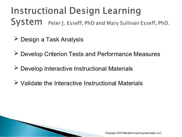 robert mager instructional objectives