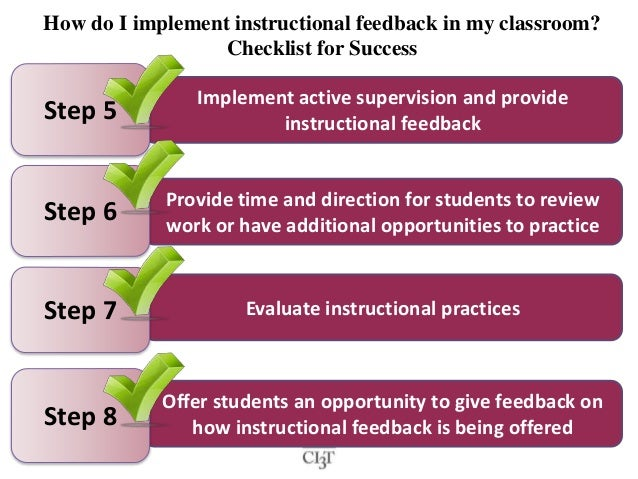 evaluate how instructional feedback from a Teacher performance evaluation system  instructional planning  and applying pertinent data compiled within a system of meaningful feedback.