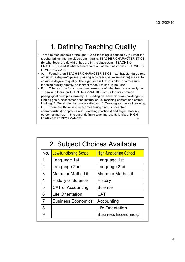 characteristics of instructional leadership