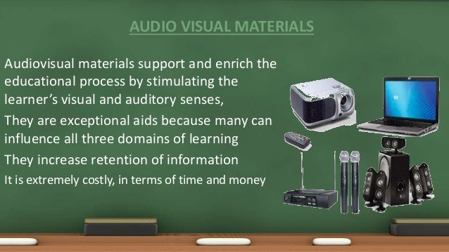 advantages and disadvantages of audio visual communication pdf