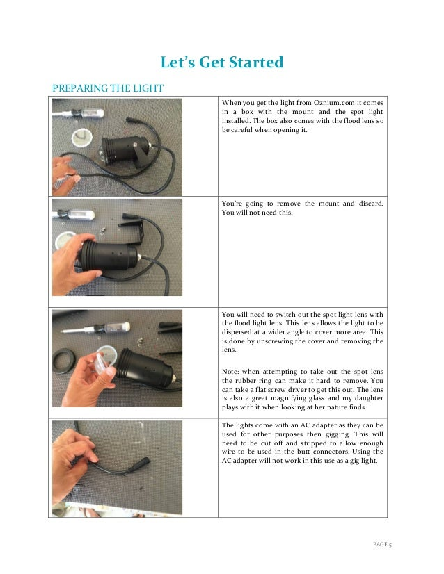 instructional module building your own flounder light 6