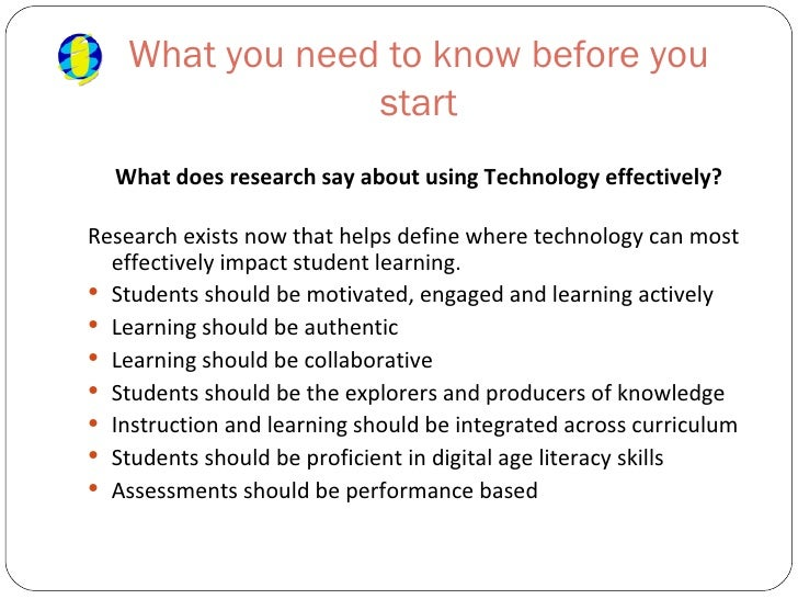 Instructional Strategies For Technology Integration