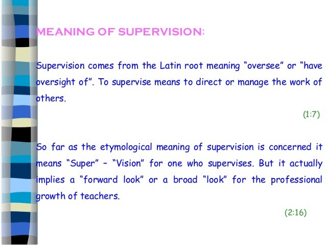 Focuses of school based instructional supervision | essay academic.
