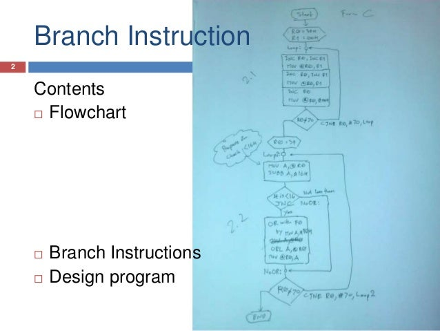 what is branch instruction
