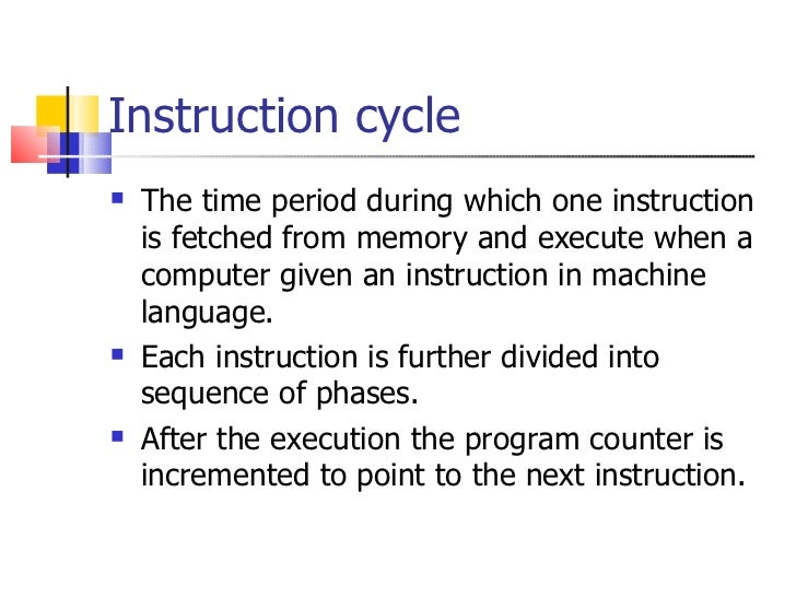 What Is Meant By Instruction Cycle In 8085 - WordPress.com