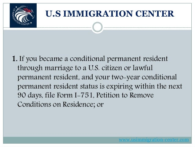 Instruction For Permanent Resident Card Renewal Form I 90