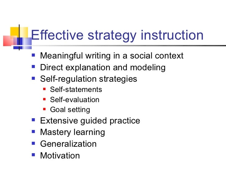 instructional strategies essay Strategies for teaching argumentative writing integrating reading and writing  page 1 of 17 response 7  the conclusion should bring the essay to a logical end however, your conclusion should not simply restate your introductory paragraph your conclusion should explain what the importance of your.