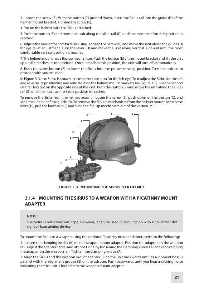Instruction Manual ARMASIGHT SIRIUS MG NV Monocular | Optics