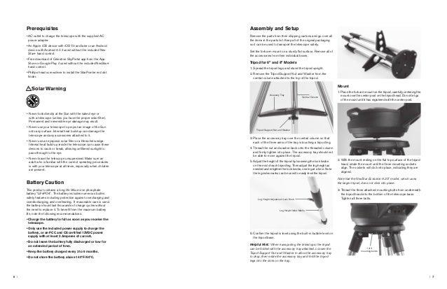 telescope mount parts