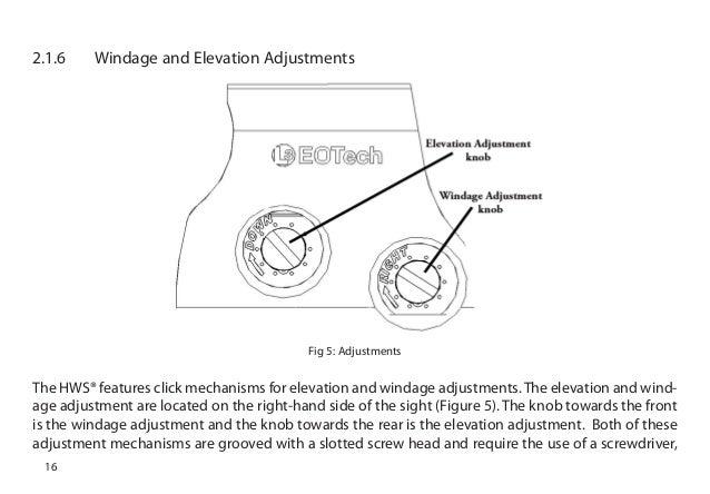 instruction manual eotech xps3 sight optics trade