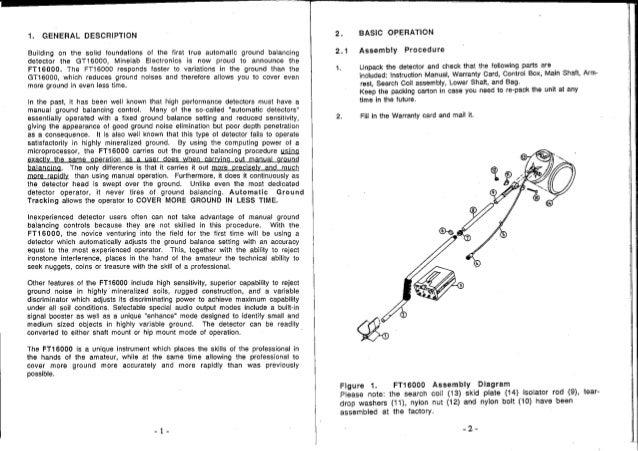 minelab x terra 705 manual