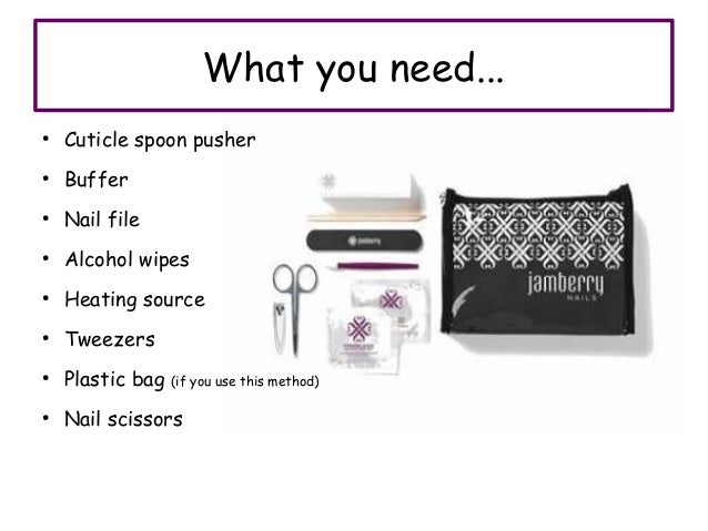 Jamberry Application Instructions