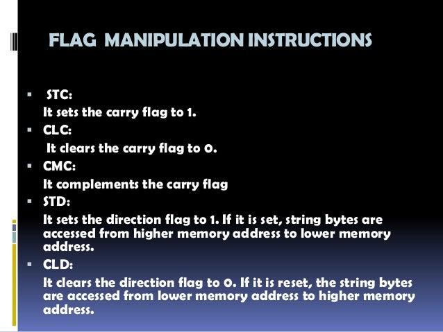 Instruction Set - Instruction Set of 8085 Microprocessor ...