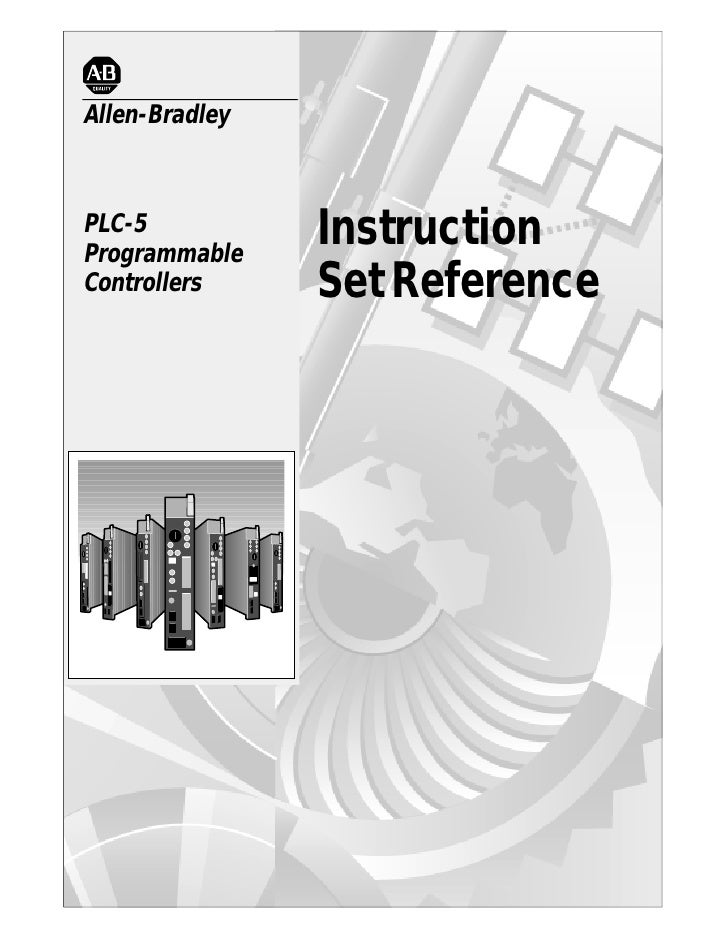 Allen-BradleyPLC-5Programmable                InstructionControllers     Set Reference