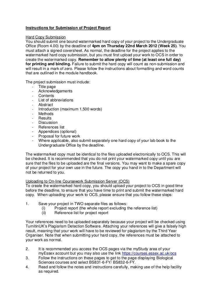 Order biology dissertation hypothesis