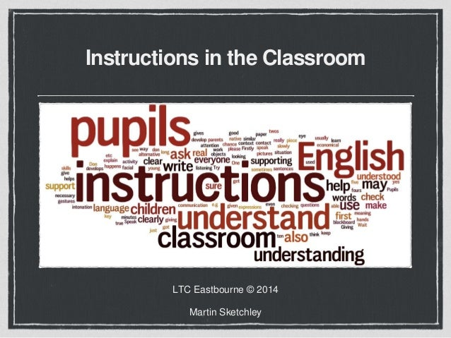 Instructions In The Classroom