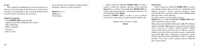 Instructions MEOPTA Artemis 3000 Rifles Scope | Optics Trade Slide 3