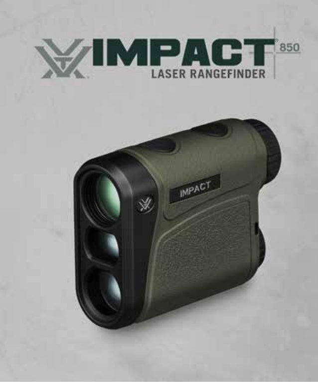 Instructions | Vortex Impact 850 Rangefinder