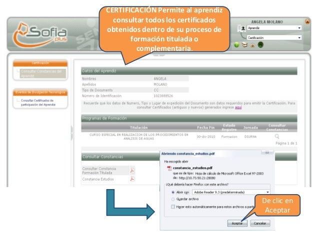 El sistema mostrara el certificado de acreditación de su programa, el cual podrá imprimir.