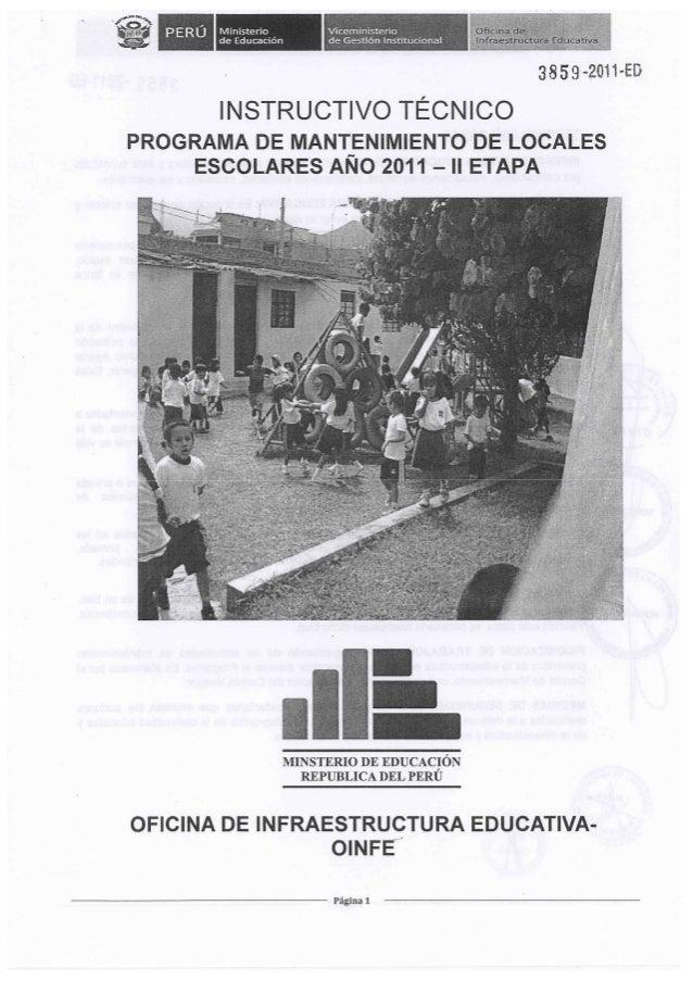 Instructivo aprobado 2011 2