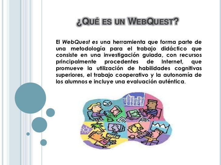 Instructivo digital webquest Slide 2