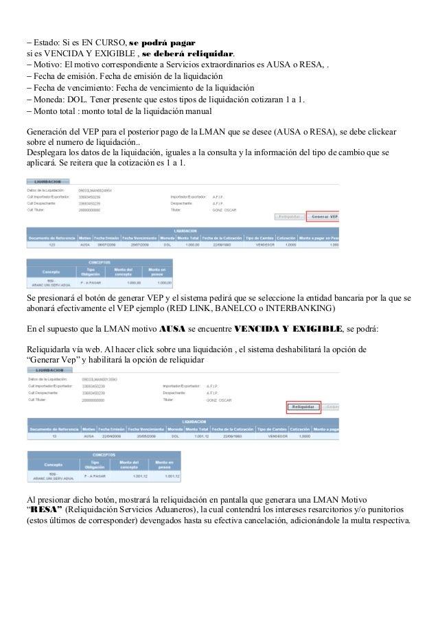 Instructivo liquidaciones ausa   cargos por servicios extraordinarios Slide 2