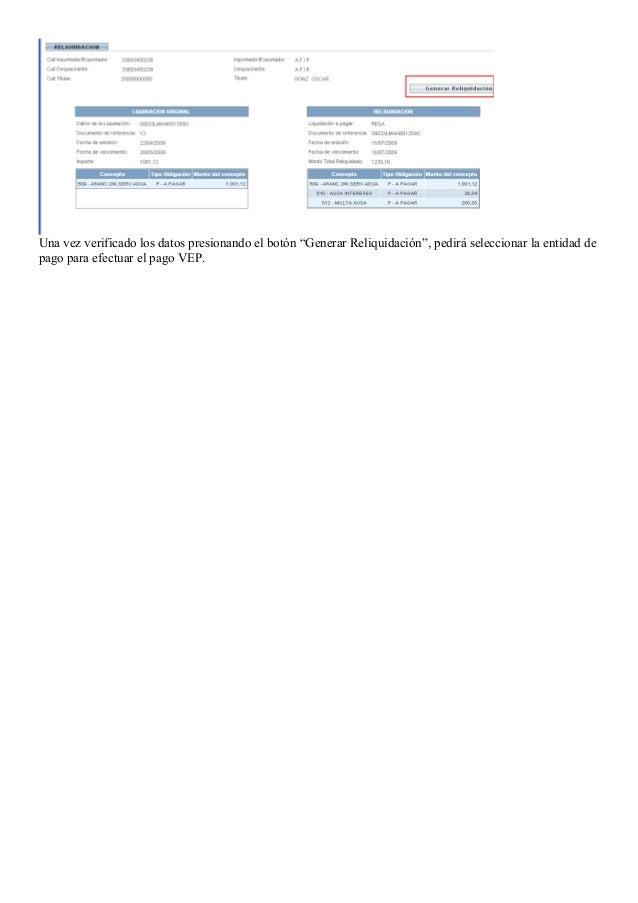 Instructivo liquidaciones ausa   cargos por servicios extraordinarios Slide 3