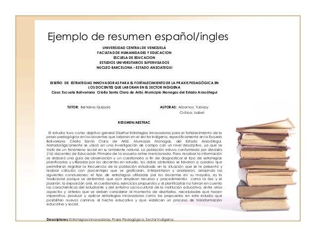 resumen y comentario del libro psicolog a del mexicano en el trabajo un resume http ecro - Ejemplos De Resume En Ingles