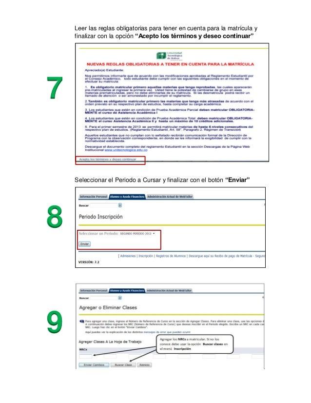 Instructivo proceso de matricula Slide 3