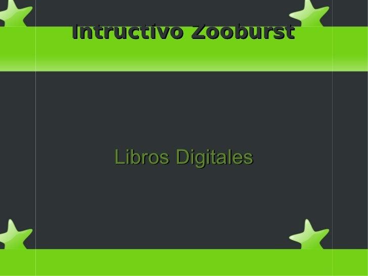 Intructivo Zooburst   Libros Digitales