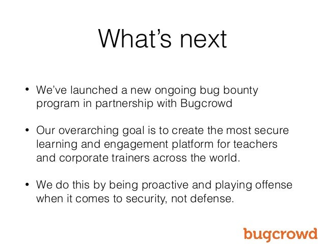 Key Takeaways from Instructure's Successful Bug Bounty Program