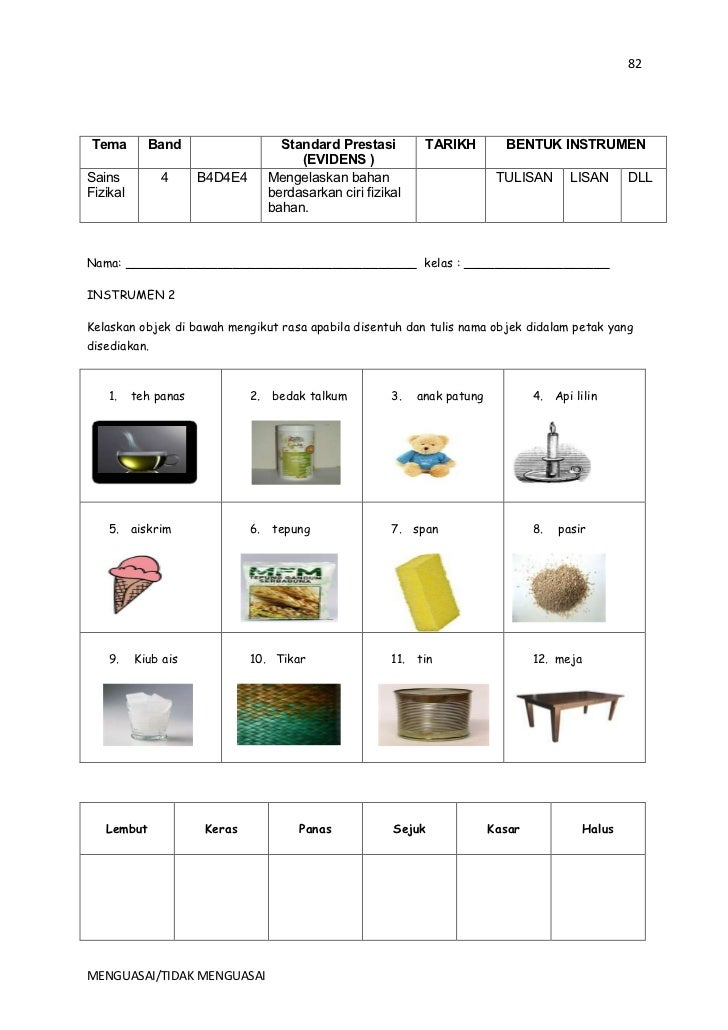 kssr sains Sains kssr tahun 2 (semakan)  sains tahun 2 dokumen standard  kurikulum dan pentaksiran kurikulum standard sekolah.