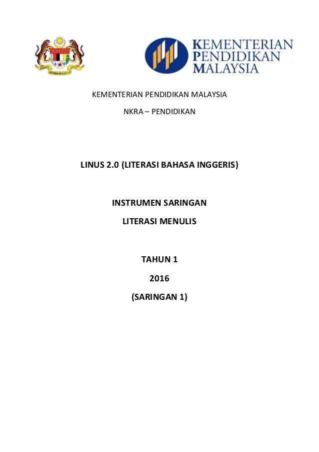 Soalan Diagnostik Bahasa Melayu Tahun 4 - Kecemasan g
