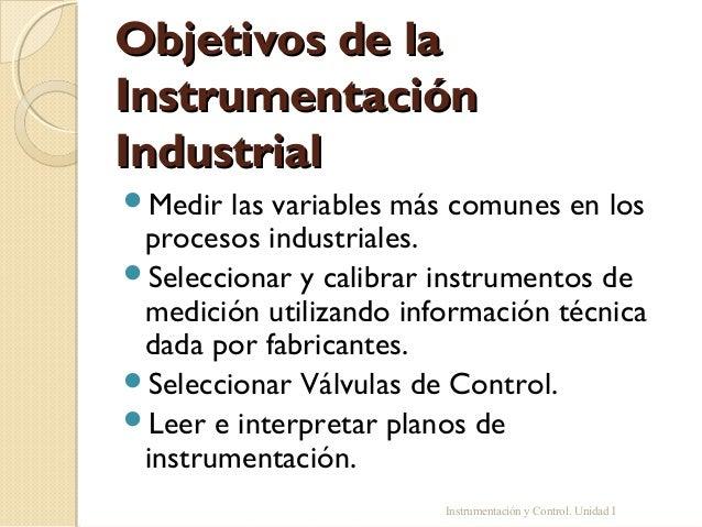 Instrumentación industrial Slide 3