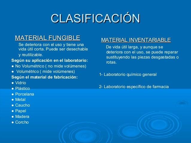 Instrumental de laboratorio for Material fungible de oficina