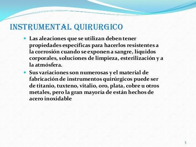 Instrumental quirurgico Slide 3