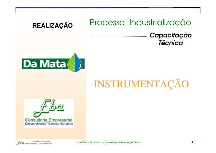 RETORNO AO INÍCIO   SAIR        REALIZAÇÃO                            Processo: Industrialização                          ...
