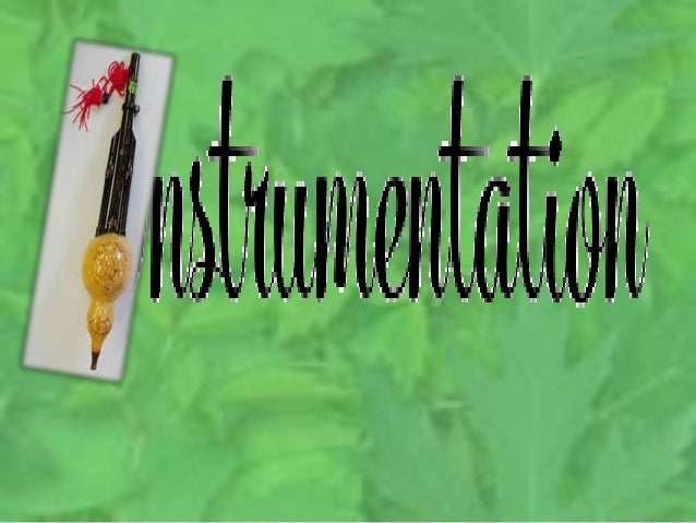 Instrumentation is the process of constructing research instruments that could be used appropriately in gathering data on ...