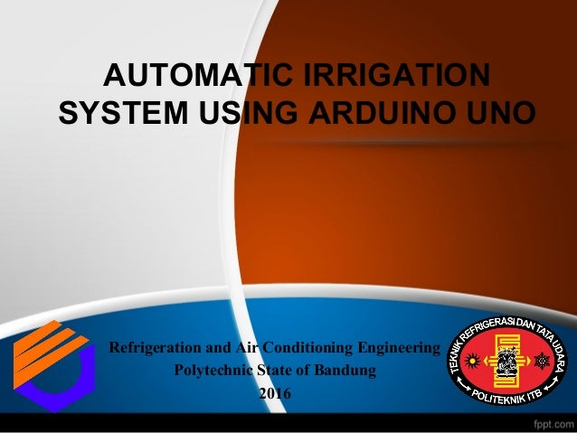 AUTOMATIC IRRIGATION SYSTEM USING ARDUINO UNO