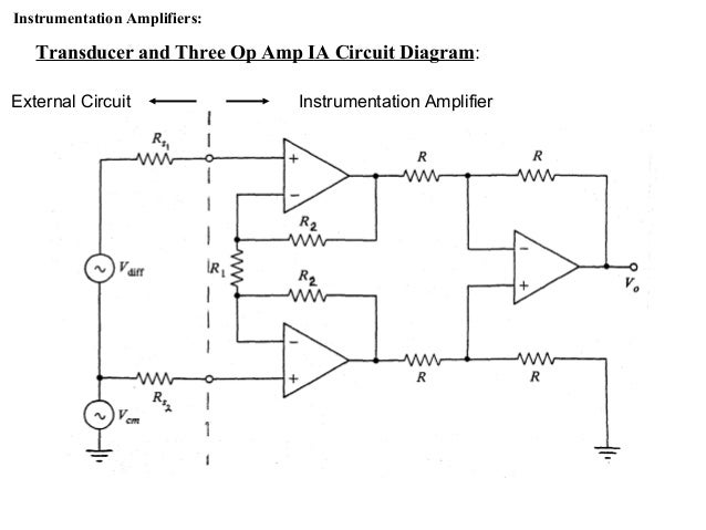 Surprising Instrumentation Amplifiers Wiring 101 Capemaxxcnl