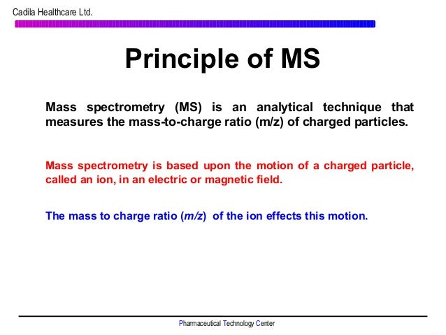 Mass Spectrometry Tutorial
