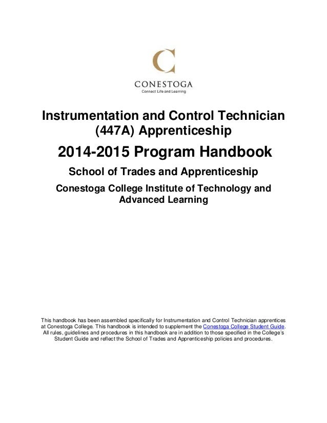 instrumentation and control technician apprenticeship program handboo apprenticeship recommendation letter maintenance cover letter sample
