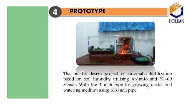 Automatic Plant Fertilization Based On Soil Humidity