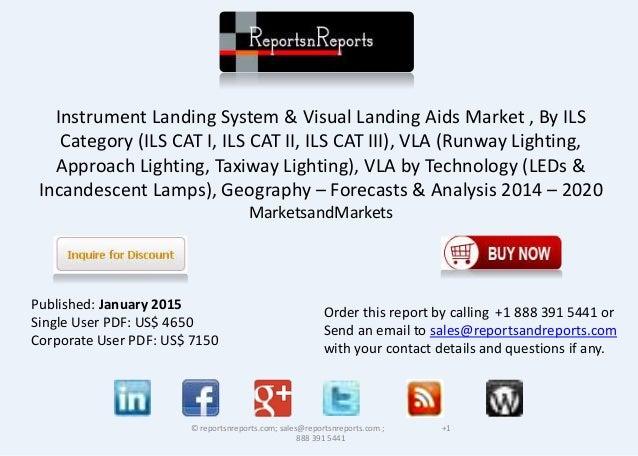 Instrument Landing System & Visual Landing Aids Market , By ILS Category (ILS CAT I, ILS CAT II, ILS CAT III), VLA (Runway...