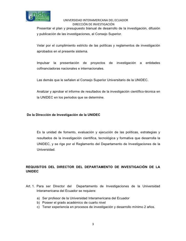 Instrumento de gestión de la investigación en la unidec Slide 3
