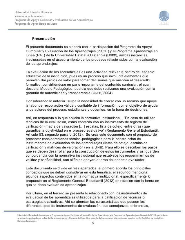 5    Presentación El presente documento se elaboró con la participación del Programa de Apoyo ...